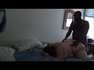 Bbw ex girlfriend made cuckold video with guy..